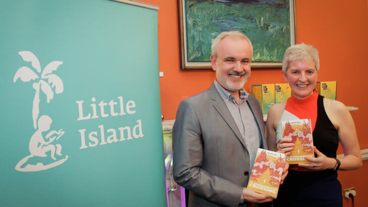 Colm O'Gorman with Jane Mitchell