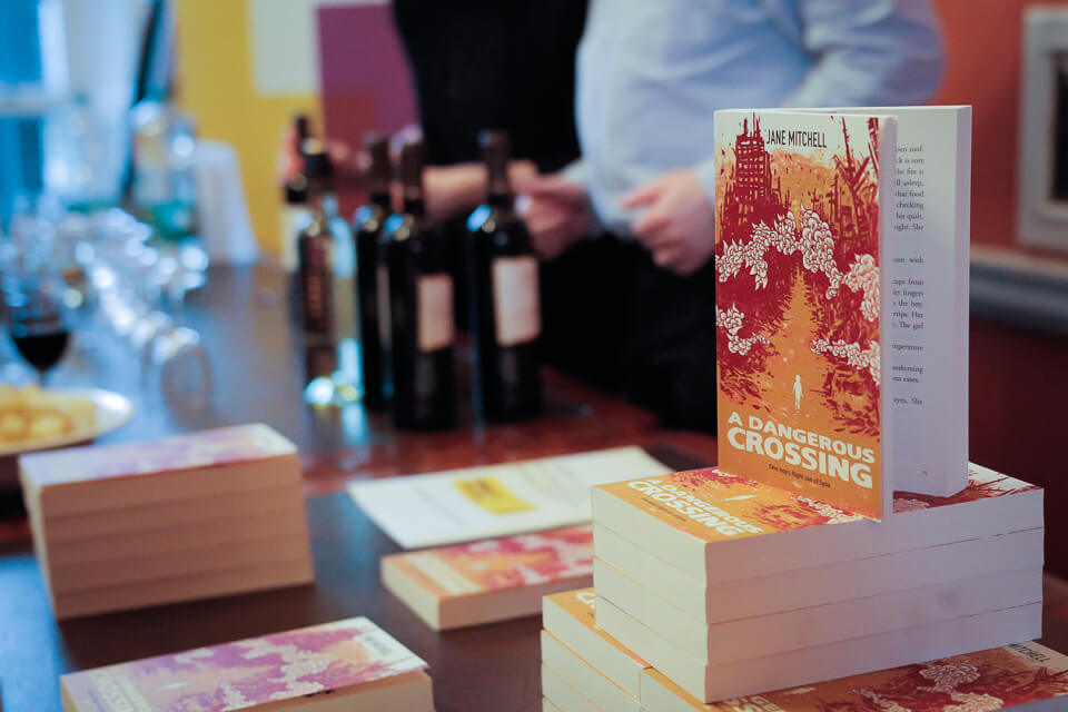 A Dangerous Crossing Book Launch on 15 March 2016 by Yan Bourke-2