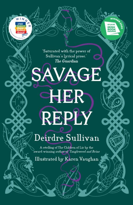Savage Her Reply Cover (paperback)