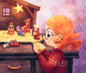 Illustration from Evie's Christmas Wishes